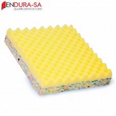 """Endura Convoluted Foam Wheelchair Cushion 14""""-36cm"""