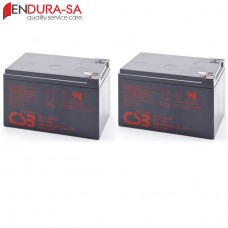 Endura 12Amp/h - 12V Battery Set